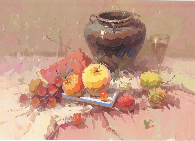 【色彩干貨】畫色彩學習用筆最實用的六種繪畫技巧,看完考試不愁!
