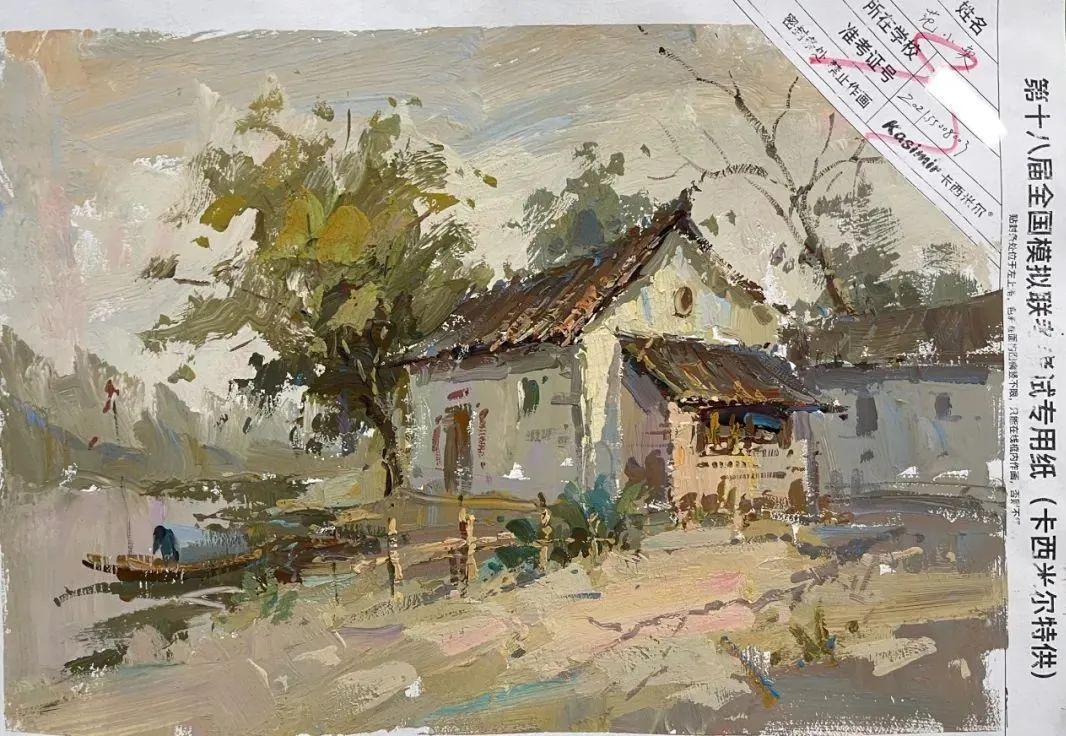 【高分卷】浙江省2022届最新一模高分卷,这样独特的色彩风景也太美了吧!